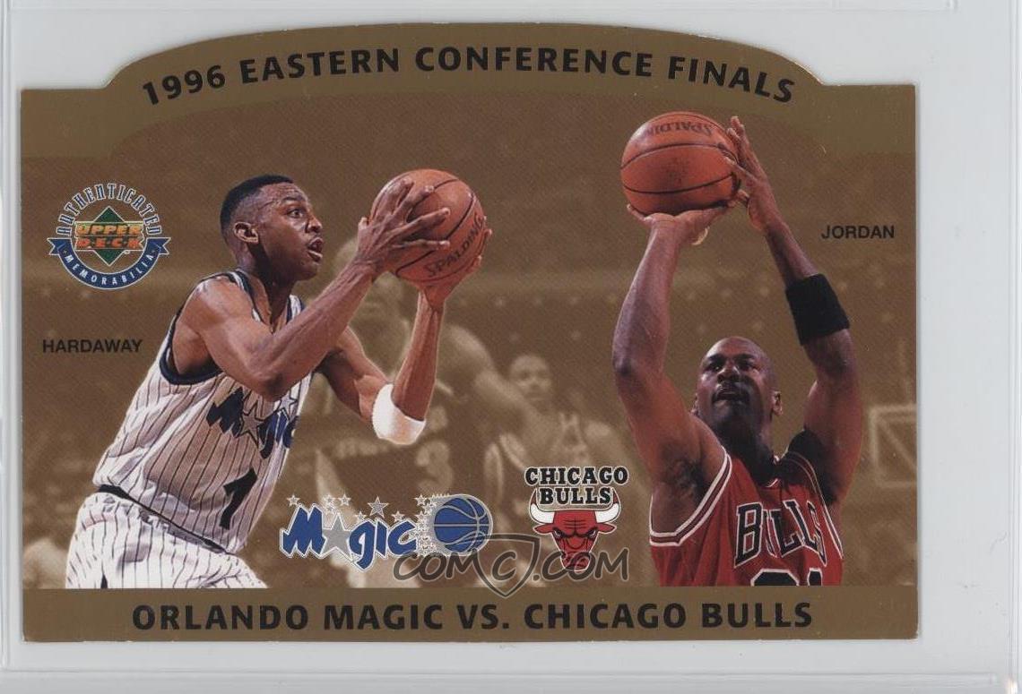 premium selection a23bd b857e 1996 Eastern Conference Finals (Anfernee Hardaway, Michael Jordan)  5000