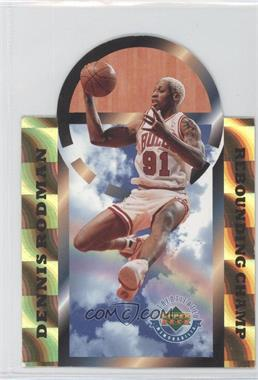 1996 Upper Deck Authenticated - [Base] #DRRC - Dennis Rodman (Rebounding Champ) /5000