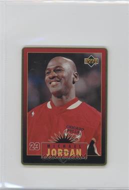 1996 Upper Deck Metal Michael Jordan - Tin Set Red/Black Bordered #1 - Michael Jordan