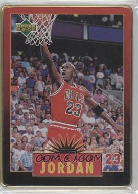 1996 Upper Deck Metal Michael Jordan - Tin Set Red/Black Bordered #2 - Michael Jordan
