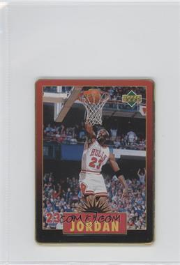 1996 Upper Deck Metal Michael Jordan - Tin Set Red/Black Bordered #3 - Michael Jordan
