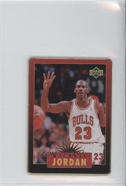1996 Upper Deck Metal Michael Jordan - Tin Set Red/Black Bordered #5 - Michael Jordan