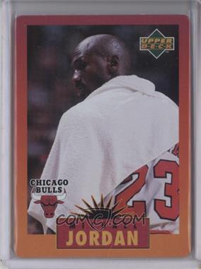 1996 Upper Deck Metal Michael Jordan - Tin Set Red/Orange Border #4 - Michael Jordan