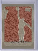 Michael Jordan 1986-87 (Gold Border, Ball Color/Texture Background)