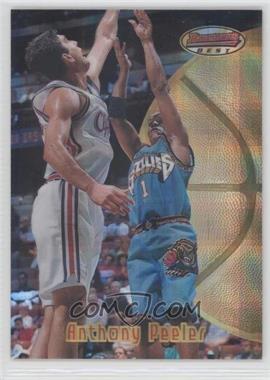 1997-98 Bowman's Best - [Base] - Atomic Refractor #64 - Anthony Peeler
