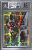 Michael Jordan, Ron Mercer, Gary Payton, Stephon Marbury [BGS 8.5 NM&…