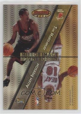 1997-98 Bowman's Best - Mirror Image - Refractor #MI3 - Allen Iverson, Tim Hardaway, Jason Kidd, Bobby Jackson