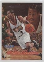 8207175de52 Allen Iverson. 1997-98 Flair Showcase -  Base  - Row 2  3
