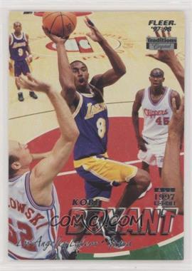 1997-98 Fleer - [Base] - Crystal #50 - Kobe Bryant