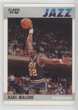 1997-98 Fleer - Decade of Excellence #6 - Karl Malone