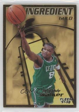 1997-98 Fleer - Key Ingredient - Gold #15 - Antoine Walker