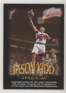 1997-98 Fleer - Million Dollar Moments Contest #15 - Jason Kidd