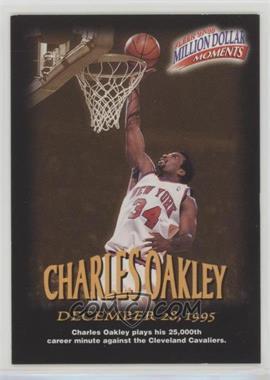 1997-98 Fleer - Million Dollar Moments Contest #16 - Charles Oakley