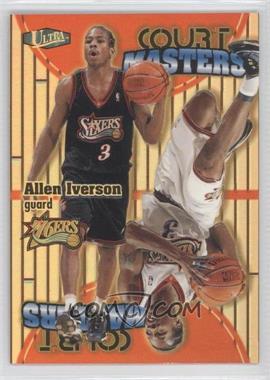 1997-98 Fleer Ultra - Court Masters #2 CM - Allen Iverson