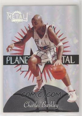 1997-98 Metal Universe - Planet Metal #14 PM - Charles Barkley