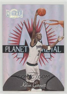 1997-98 Metal Universe - Planet Metal #8 PM - Kevin Garnett