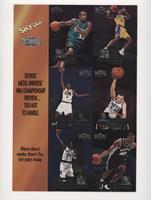 Grant Hill, Allen Iverson, Kevin Garnett, Kobe Bryant, Keith Van Horn, Tim Dunc…