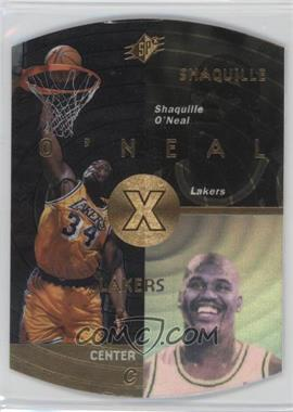 1997-98 SPx - [Base] - Gold #22 - Shaquille O'Neal