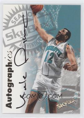 1997-98 Skybox Premium - Autographics - [Autographed] #VLDI - Vlade Divac