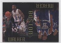 Antoine Walker, Ron Mercer (Walker Autograph) #/1,000
