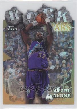 1997-98 Topps - Rock Stars - Refractor #RS16 - Karl Malone