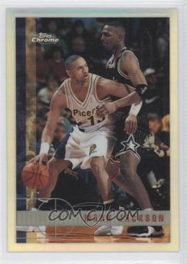 1997-98 Topps Chrome - [Base] - Refractor #105 - Mark Jackson