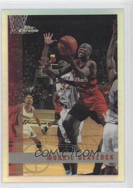 1997-98 Topps Chrome - [Base] - Refractor #129 - Mookie Blaylock