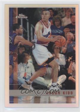 1997-98 Topps Chrome - [Base] - Refractor #49 - Jason Kidd