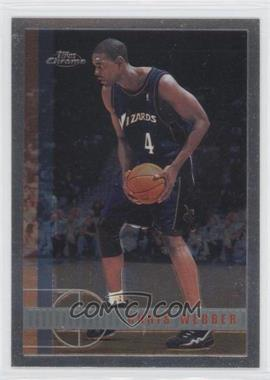 1997-98 Topps Chrome - [Base] #185 - Chris Webber