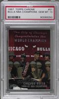 Chicago Bulls 1996-97 NBA Champions [PSA 10]