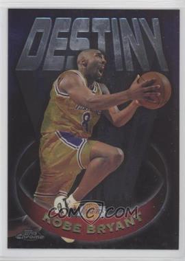 1997-98 Topps Chrome - Destiny #D5 - Kobe Bryant