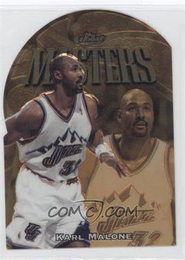 1997-98 Topps Finest - [Base] - Embossed #321 - Karl Malone