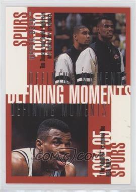 1997-98 Upper Deck - [Base] #354 - David Robinson, Tim Duncan, Sean Elliott, Dennis Rodman