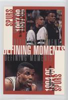 San Antonio Spurs Team, David Robinson, Tim Duncan