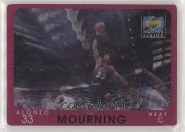 1997-98 Upper Deck Diamond Vision - [Base] #14 - Alonzo Mourning