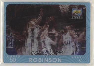 1997-98 Upper Deck Diamond Vision - [Base] #24 - David Robinson