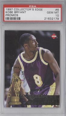 1997 Collector's Edge Impulse - Promos #6-6 - Kobe Bryant [PSA10]