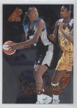 1997 Pinnacle Inside WNBA - [Base] - Court Collection #61 - Janice Lawrence Braxton