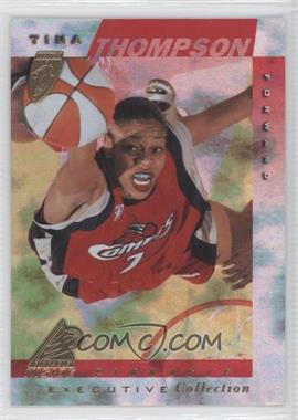 1997 Pinnacle Inside WNBA - [Base] - Executive Collection #13 - Tina Thompson
