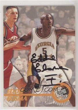 1997 Press Pass - Certified Authentic Autographs #EDEL - Eddie Elisma