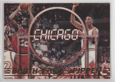 1997 Press Pass Double Threat - [Base] #43 - Keith Booth, Scottie Pippen