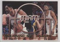 Alonzo Mourning, Charles Smith