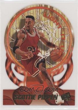 1997 Press Pass Double Threat - Light It Up #LU20 - Scottie Pippen