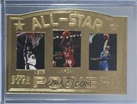 All-Star Power (Shawn Kemp, Michael Jordan, Anfernee Hardaway) #/5,000