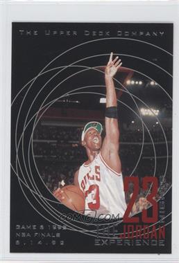 1997 Upper Deck 23 Nights The Jordan Experience - [Base] #14 - Michael Jordan