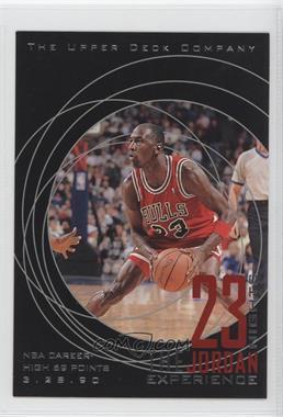 1997 Upper Deck 23 Nights The Jordan Experience - [Base] #18 - Michael Jordan