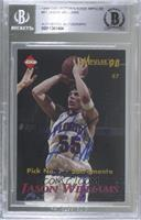Scottie Pippen, Jason Williams [BAS Certified BGS Encased]