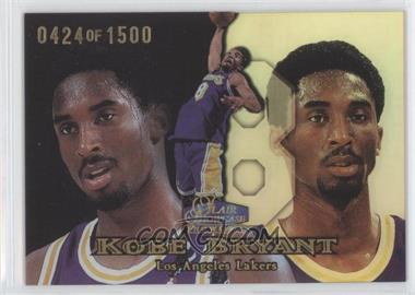 1998-99 Flair Showcase - [Base] - Row 1 #2 - Kobe Bryant /1500