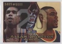 Allan Houston #/6,000