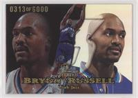 Bryon Russell #/6,000